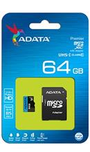 ADATA Premier microSDXC 64GB UHS-I 85MBps with Adapter